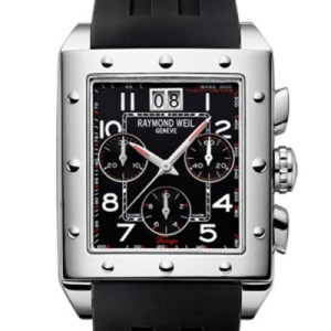 Tango Chronograph rectangular Steel
